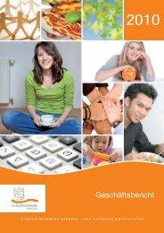 Geschäftsbericht 2010 - Studierendenwerk Hamburg