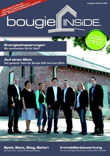 Newsletter Oktober 2008 - Bougie