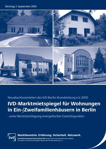 IVD-Marktmietspiegel für Wohnungen in Ein-/Zweifamilienhäusern ...