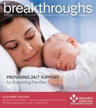 Breakthroughs Summer 2012 - Saint John's Health Center