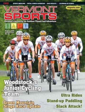 August 2009 - Vermont Sports Magazine