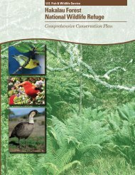 Final Comprehensive Conservation Plan - U.S. Fish and Wildlife ...