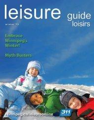 City of Winnipeg Leisure Guide • Winter 2013