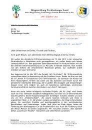 Brief (PDF) - Bürgerstiftung Tecklenburger Land