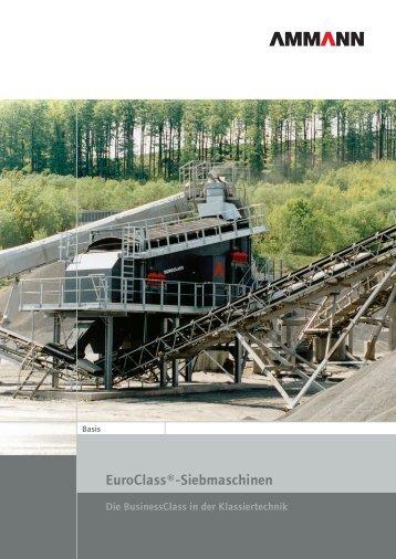 Euroclass®-Siebmaschinen - Ammann