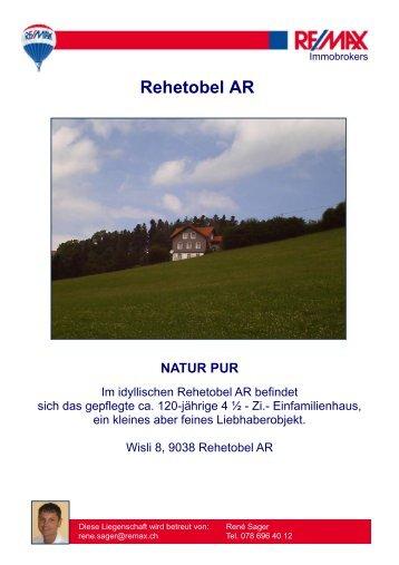 Rehetobel AR - newhome.ch