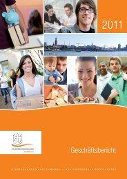 Geschäftsbericht 2011 - Studierendenwerk Hamburg