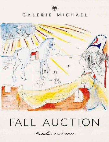FALL AUCTION - Galerie Michael