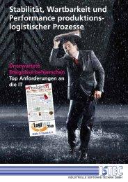 Artikel als PDF - ISTEC:Industrielle Software-Technik GmbH