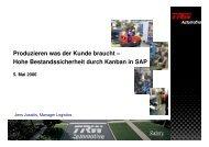 KANBAN in SAP R/3 4.7