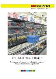 KOLLI-DURCHLAUFREGALE - Paul-Orzessek.de