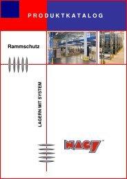 Rammschutz - NAGY® Regalsysteme