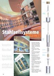 Seilspann Systeme 1,5 Kabel - Fairfield Displays Germany