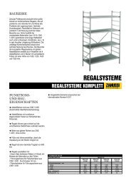 REGALSYSTEME KOMPLETT - Electrolux