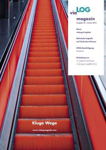 Magazin 33.indd - viaLog Logistik Beratung GmbH