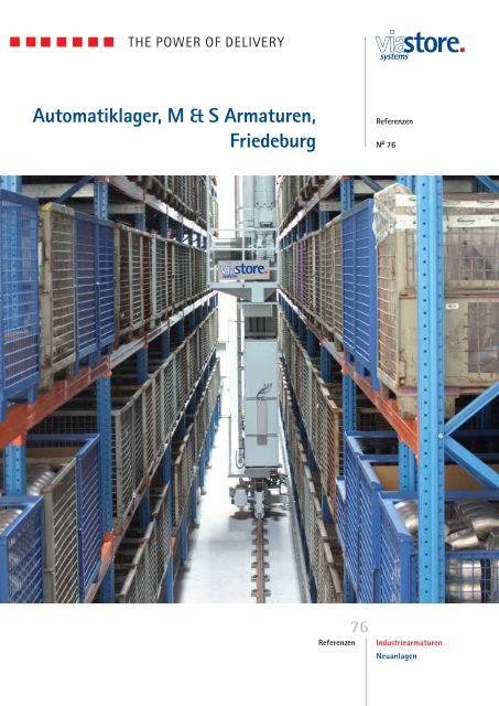 Automatiklager M & S Armaturen - Viastore Systems GmbH
