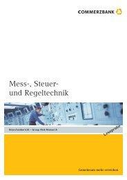 Mess-, Steuer- und Regeltechnik - IHK zu Coburg