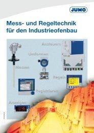 Mess- und Regeltechnik für den Industrieofenbau - Jumo GmbH ...