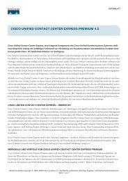 Cisco Unified Contact  Center Express Premium 4.5 - globits