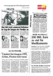 Heure - SPÖ Oberösterreich
