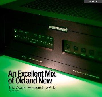SP17 Preamplifier - Audio Research