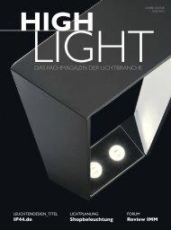 HIGHLIGHT 1/2 2012 - Ausgabe Januar/Februar - Highlight WEB