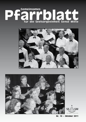 Pfarrbaltt Oktober 2011 (pdf 8 mb)
