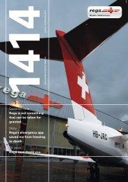1414 Swiss Air - Rescue Patrons' Magazine - Rega