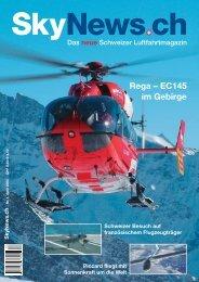 Rega – EC145 im Gebirge - SkyNews.ch