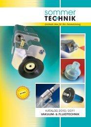 SOMMER Technik Katalog 2010