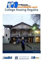 Regatta Program - Melbourne University Sport - University of ...