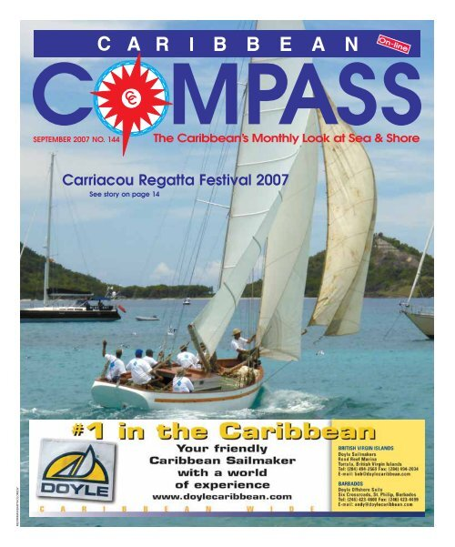 Carriacou Regatta Festival 2007 Caribbean Compass