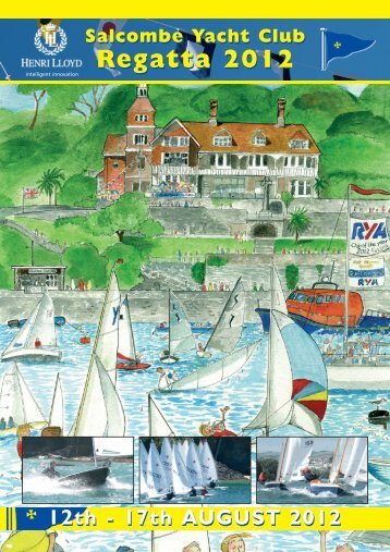 SYC Henri Lloyd Regatta 2012 Programme - Salcombe Yacht Club