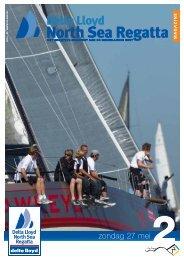 Magazine NSR 2012 zondag - North Sea Regatta