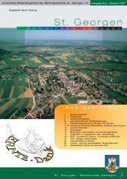 A u s d e m I n h a l t - St. Georgen im Attergau - Land Oberösterreich