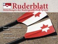 Mitteilungen der Rudergesellschaft Speyer