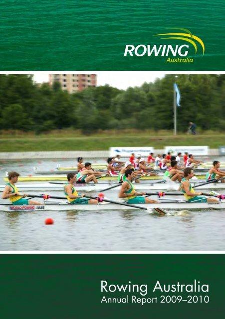 Rowing Australia Annual Report 2009-2010 - Australian Sports