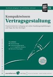 Vertragsgestaltung - IIR Deutschland GmbH