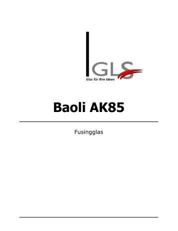 Baoli-Glas COE 85 - GLS Spezial