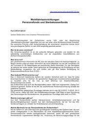 Welcomepackage - Kammer der Architekten und ...