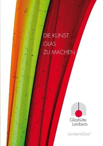 Lamberts Glas Katalog - GLS GmbH