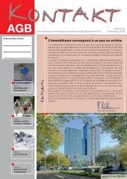 9137 zeitschrift kontakt f, page 1-6 ... - AGB Bautechnik