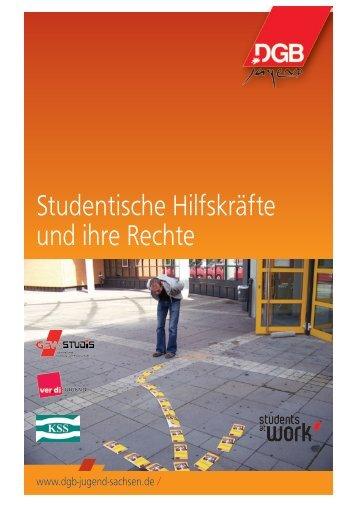 Studentische Hilfskräfte und ihre Rechte - GEW Sachsen