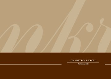 Dr. Nietsch & Kroll Rechtsanwälte