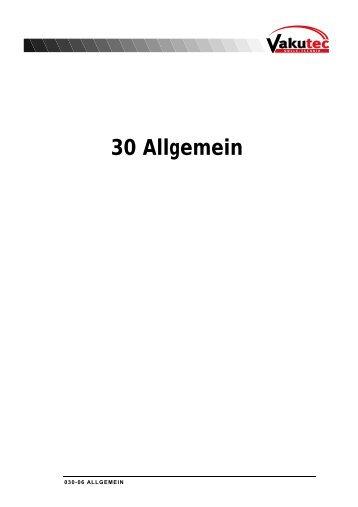 30 Allgemein - Vakutec