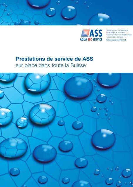 Vos partenaires en Suisse : Allschwil BL ... - ASS Aqua Sec Service