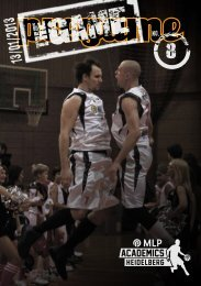 The Game Magazin 08, (13.01.2013) - USC Heidelberg