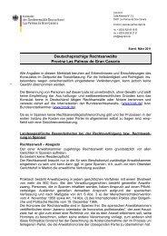 Deutschsprachige Rechtsanwälte Provinz Las Palmas de Gran ...