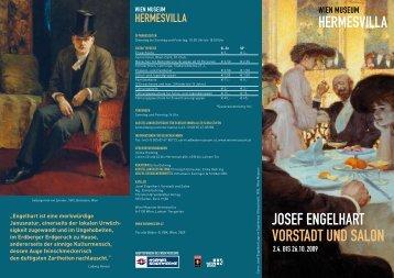 JOSEF ENGELHART VORSTADT UND SALON - Wien Museum