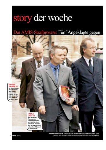 Der AMIS-Strafprozess - ARGE-AMIS